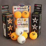 3-Pack Butterfly 3-Star Premium Balls