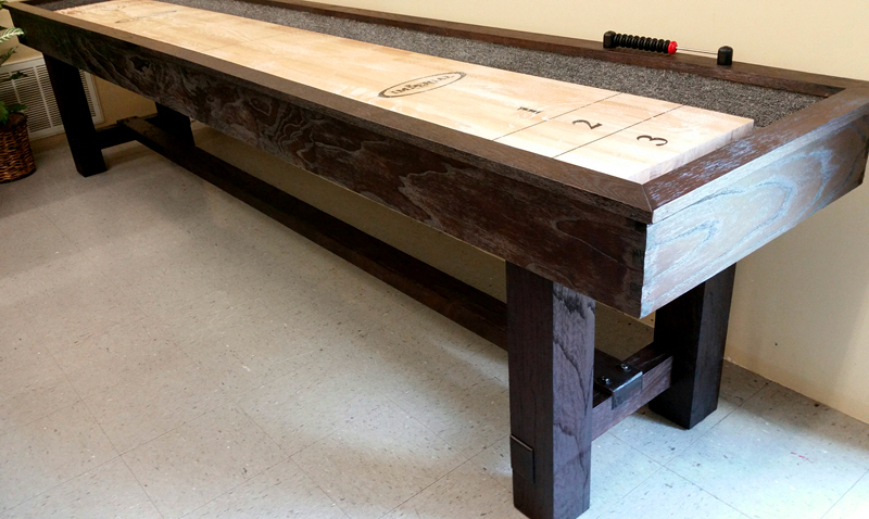 Imperial reno 12 39 shuffleboard ac cue rate billiards for 12 shuffleboard table