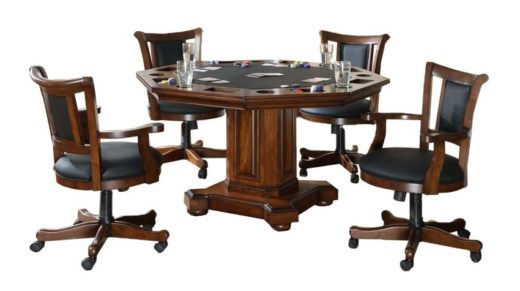 2-in-1 Poker Dining Table