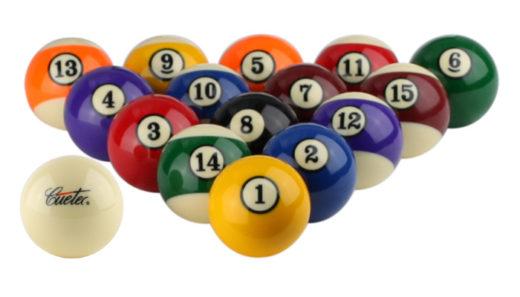 Cuetec Pool Ball Set